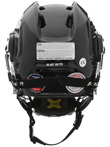 Bauer RE-AKT 100 Youth Helmet Combo incl. Cage black (2)